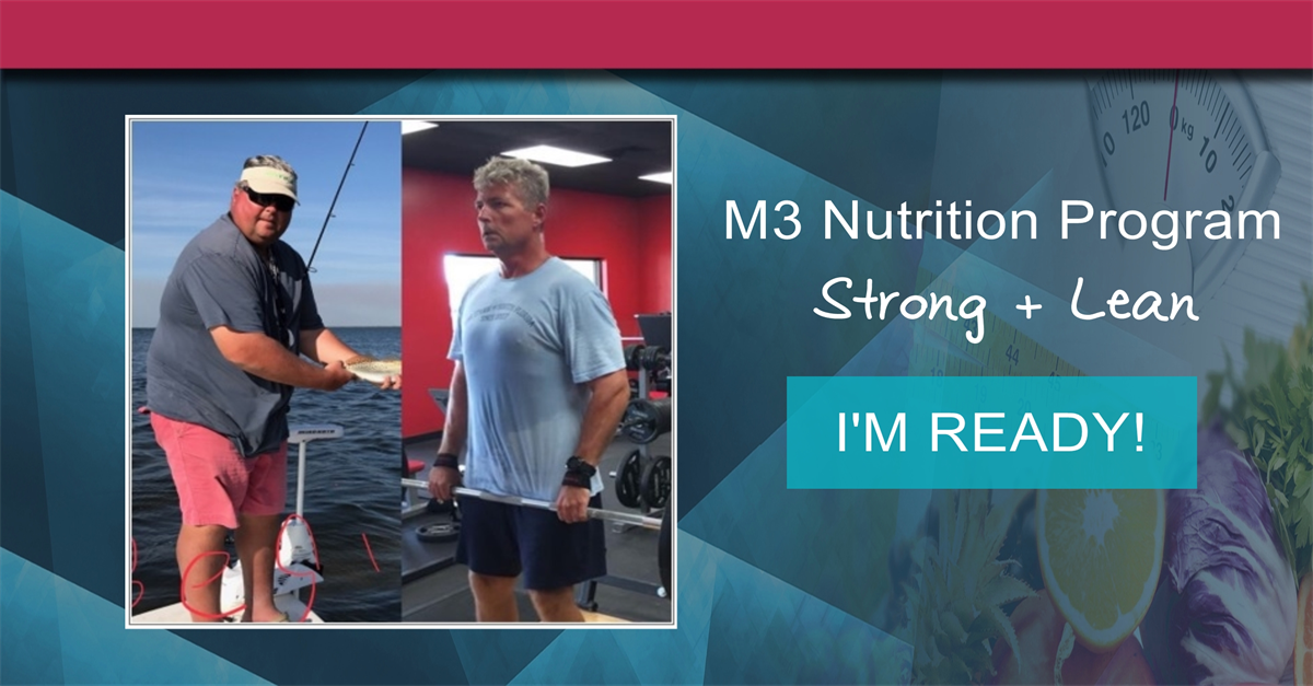 M3 nutrition program strong lean photo Solution
