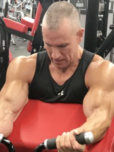 Greg Rando mind muscle memory biceps machine stretch muscles to begin The Hyper 6 Muscle Strength System