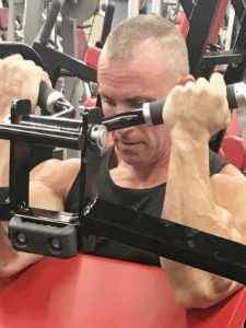 Greg Rando mind muscle memory m3 biceps curl machine flex muscles The Hyper 6 Muscle Strength System