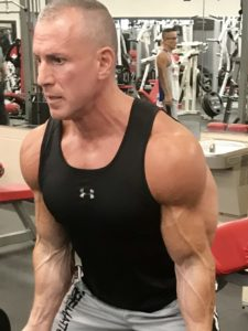 Greg Rando mind muscle memory m3 stretch biceps to begin arm curl The Hyper 6 Muscle Strength System
