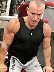 Greg Rando mind muscle memory triceps tighten to bring arm straight The Hyper 6 Muscle Strength System