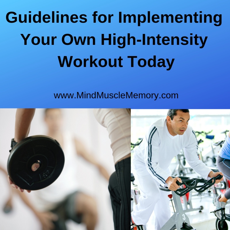 JanArt3 Jan2018 Guidelines for Implementing Your Own High-Intensity Workout Today