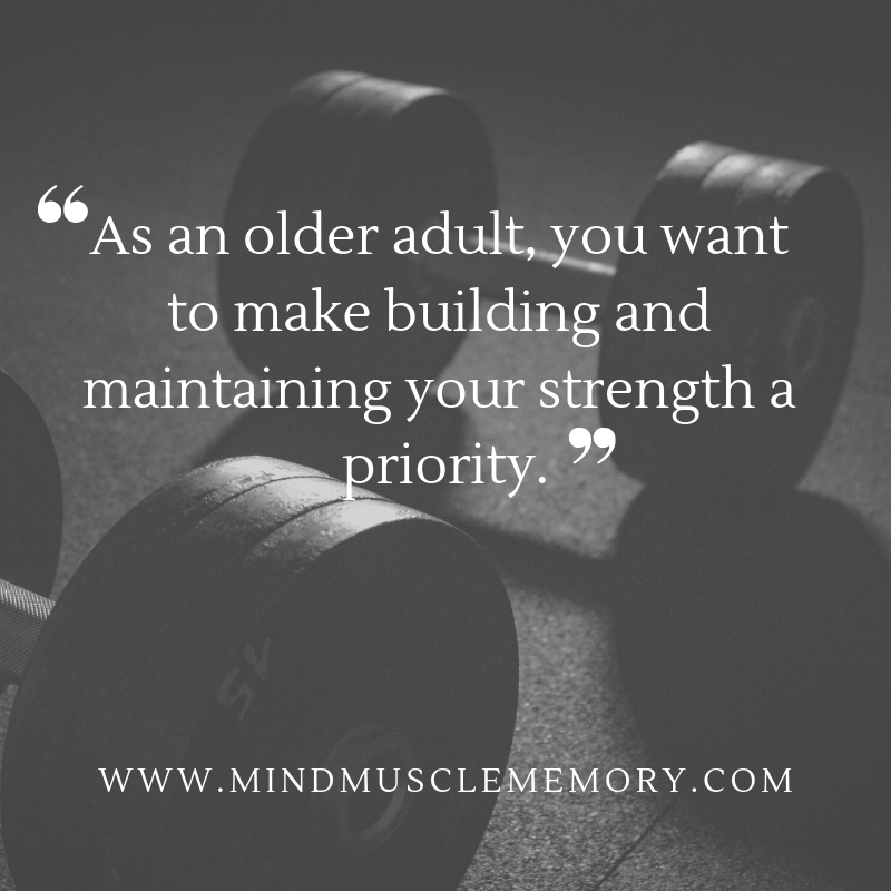 building strength after age 50