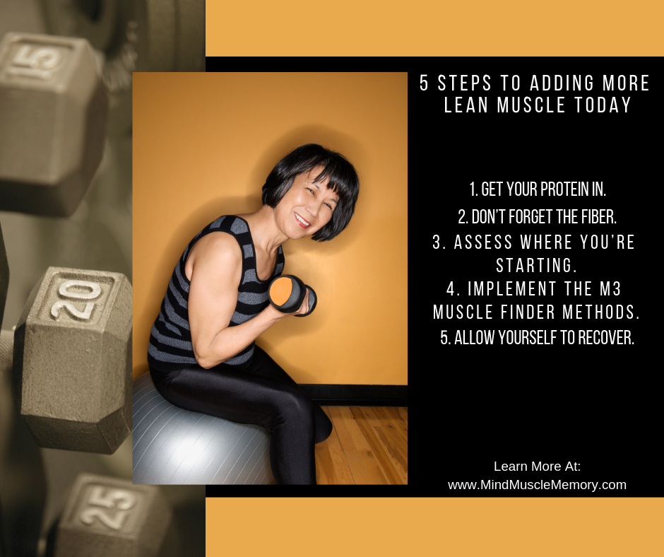 5 steps to adding more lean muscle