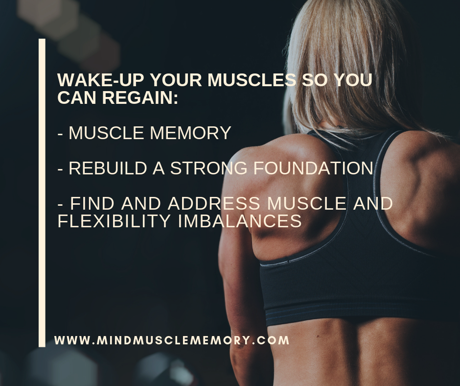 It's Time to Wake Up Your Muscles