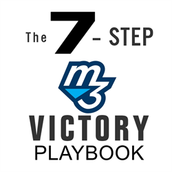 victory playbook Large Square Official M3 Equalizer System Of Mind Muscle Memory