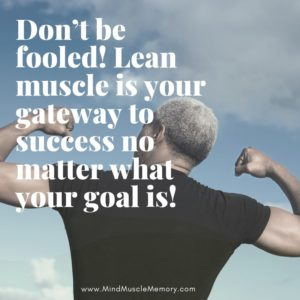 Lean Muscle is Your Gateway to Success Official M3 Equalizer System Of Mind Muscle Memory
