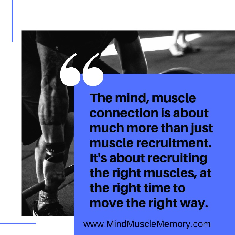 The Mind Muscle connection is about more than Muscle Recruitment How to Improve Your Metabolism Through Improved Movement