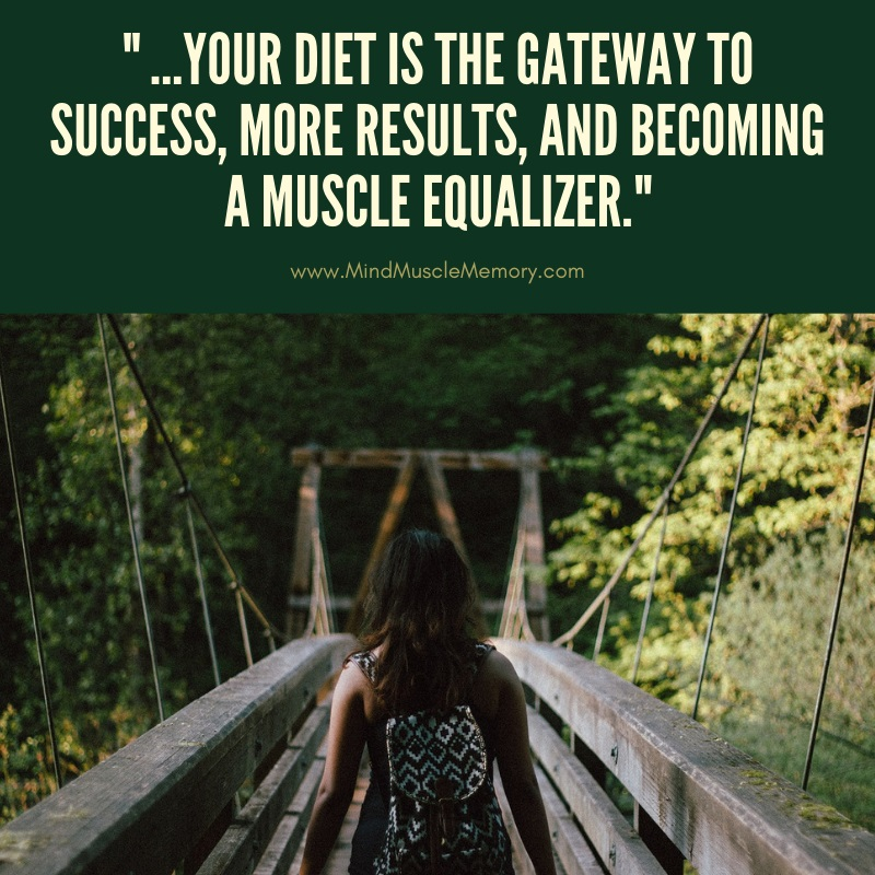 nutrition and diet are gateway to fitness success