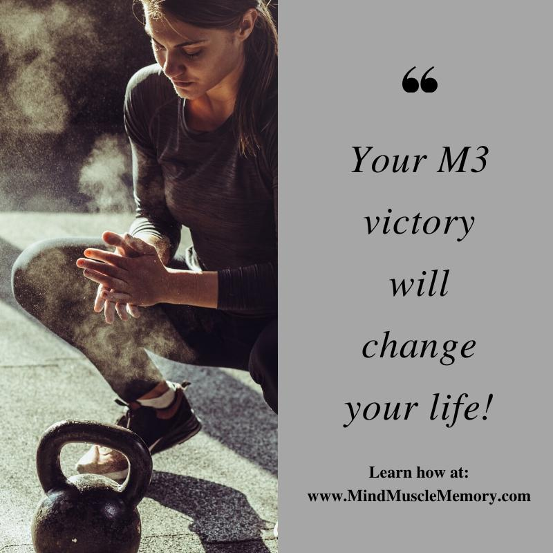 Your M3 victory will change your life Stop focusing on what you haven't accomplished yet! Find Your Victory Today!