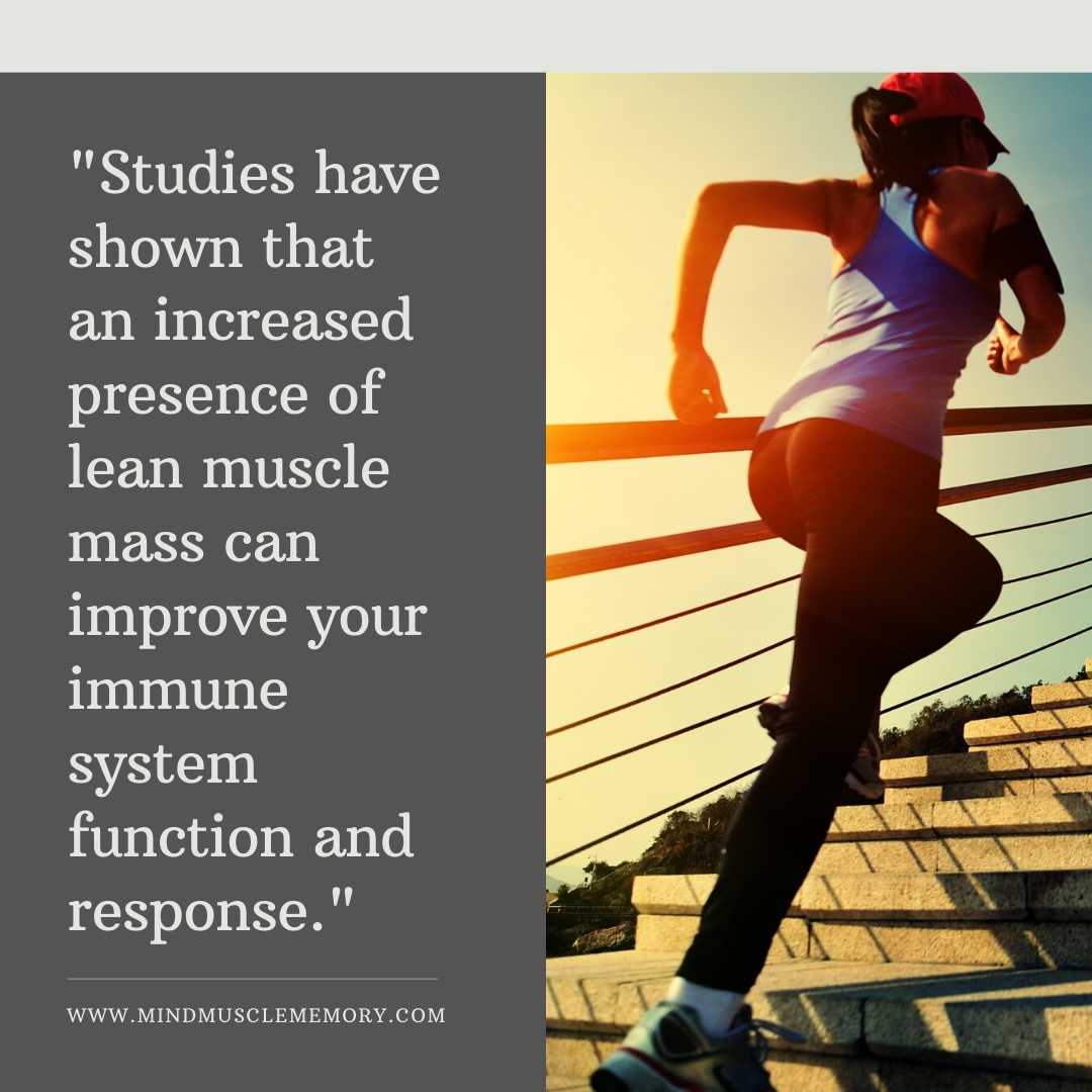 Exercise can improve you immunity and recovery