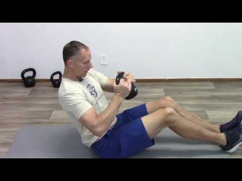 at home kettlebell abdominal twi At Home Kettlebell Abdominal Twist For Strong Core
