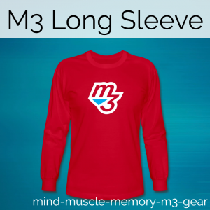 mind muscle memory fitness long sleeve shirt