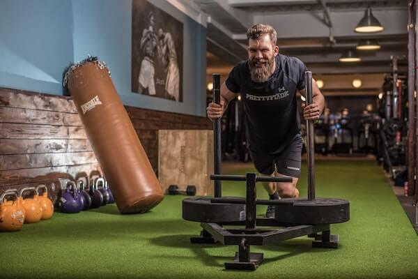 gymfit man Virtual Fitness Coach