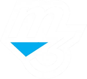 m3 website white logo