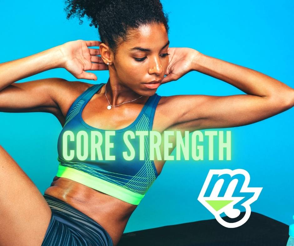 M3 Core Strength abdominal workout with mind muscle memory