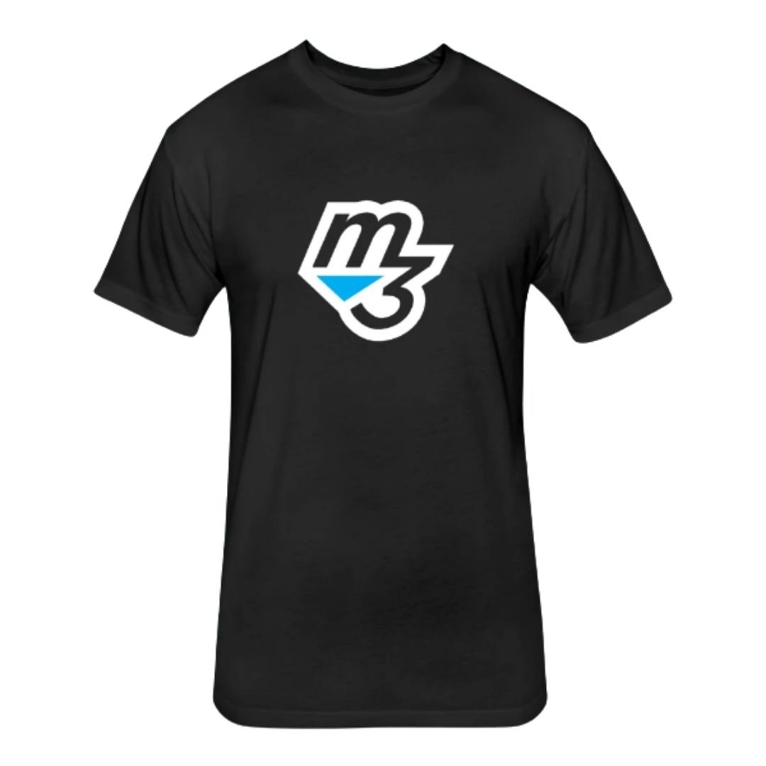 M3 fitness wear men black next level tee shirt Welcome - Mind Muscle Memory FitDiet Challenge