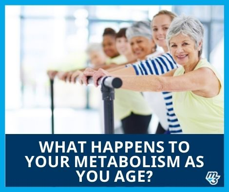 What happens to your metabolism as you age