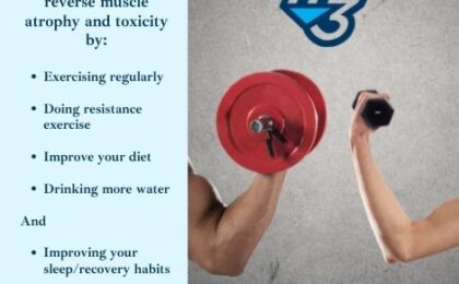 You can build more muscle mass with M3