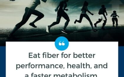 Eat fiber for better performance, health, and a faster metabolism with M3