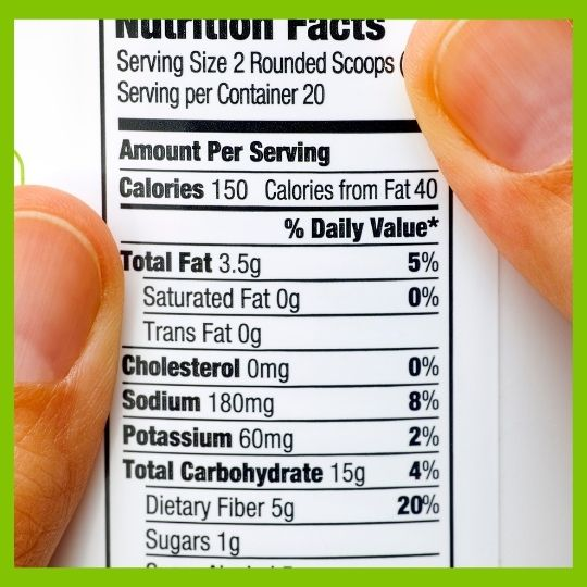NutritionLabel M3 Discovery of 1 Powerful New Macronutrient Called Dietary Fiber