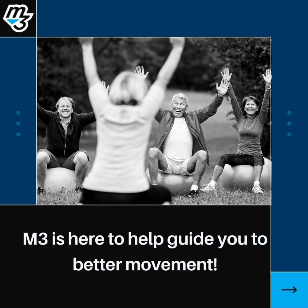 M3 is here to help guide you to better movement!